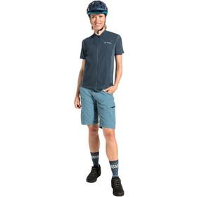 VAUDE Tamaro Pantalones cortos Mujer, azul